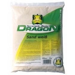Sand weiß 5kg Dragon staubfrei+aquarientaugl.