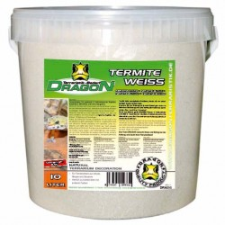 Termite Sand weiß Dragon 10l im Kunststoff-Eimer