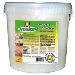 Sand weiß Dragon 10l im Kunststoff-Eimer staubfrei+aquarien