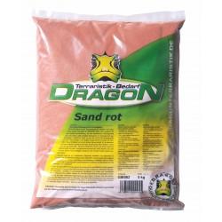 Sand rot Dragon 5kg - staubfrei - auch für Aquarien geeignet
