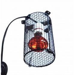 Cage avec lampe complète