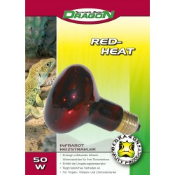 Lampe rouge 50W - R80 E27 - DRAGON
