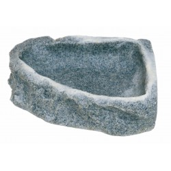 Eck-Felsschale Small Dolomit 150ml 13x11,5x3,5cm .as
