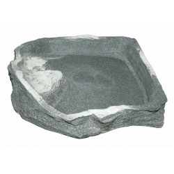 Eck-Felsschale XXLarge Dolomit 3000ml 43x40x7cm .as