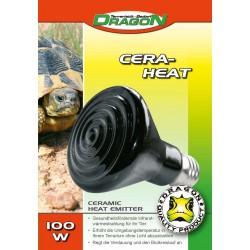 CERA-HEAT 100w Keramik-Heizstrahler schwarz