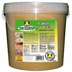 Sand gelb Dragon 10l im Kunststoff-Eimer
