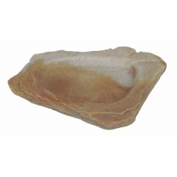 Felsschale flach, Sand Stone