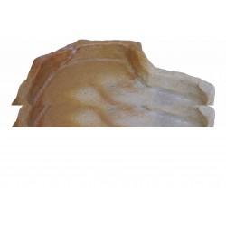 Felsschale LARGE FLACH (nur 5cm hoch) 1250ml Sand Stone