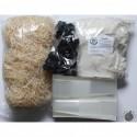 Aliments secs et substrats d'élevage
